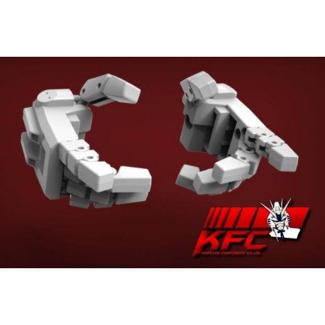 KFC Toys KP-09W Posable Hands for MP-24 Star Saber