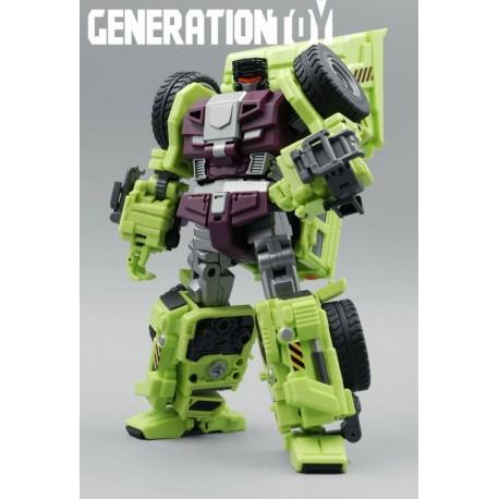 Generation Toy GT-01A Scraper