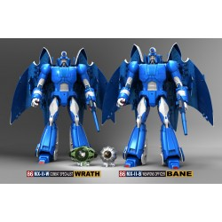 X-Transbots MX-II Swarm Team Set of 3