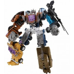 Transformers Unite Warriors UW-07 Bruticus w/ Blast-off Shuttle