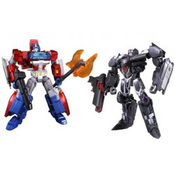 Transformers Takara Generations TG-25 Fall of Cybertron Orion Pax vs. Megatron