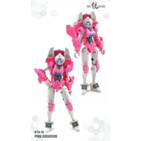Iron Factory IF-EX16 Pink Assassin