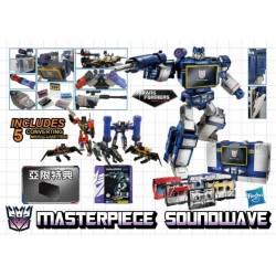 [Balance] Transformers Asia Exclusive Masterpiece Soundwave w/ 5 Cassettes