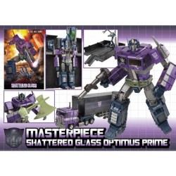 [Deposit] Transformers Asia Exclusive Masterpiece Shattered Glass Optimus Prime