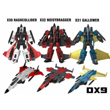 DX9 Toys War in Pocket X30 X31 X32 Conehead Set of 3
