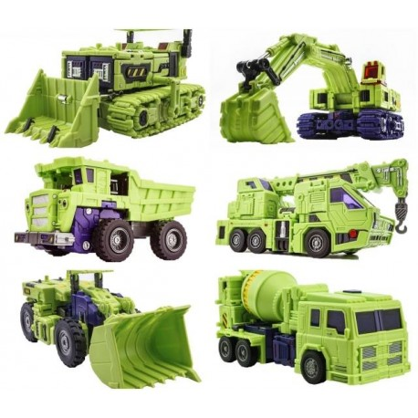 [Deposit] ToyWorld Construction Combiner Set - Reissue