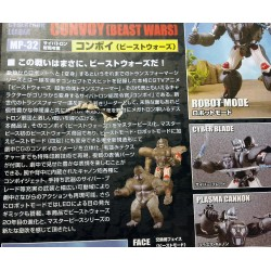 Transformers Masterpiece MP-32 Optimus Primal / Beast Convoy [Damaged Box]