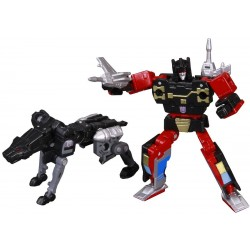Transformers Masterpiece MP-15 Rumble & Ravage - Reissue