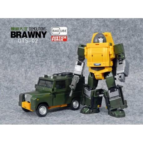 Badcube Old Timer Series OTS-02 Brawny - Reissue