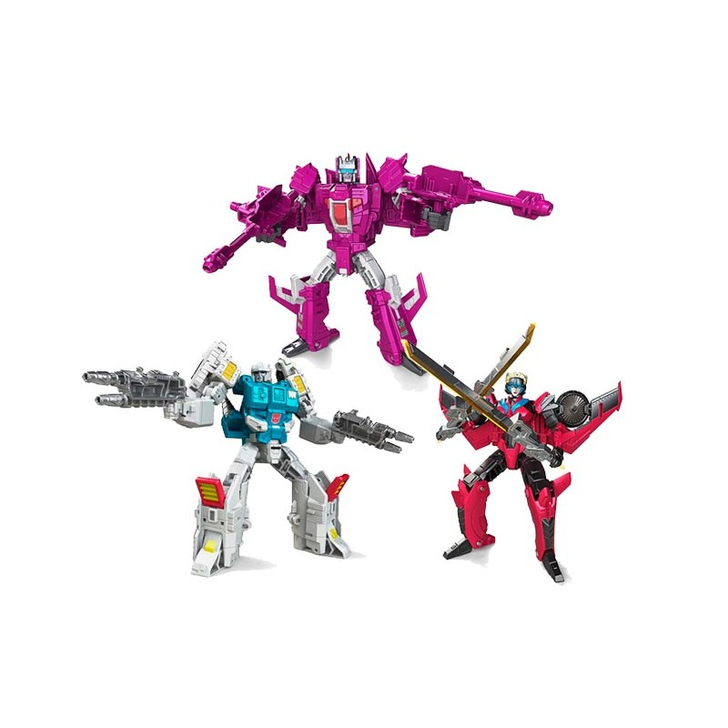 transformers titans return deluxe wolfwire windblade and. Black Bedroom Furniture Sets. Home Design Ideas