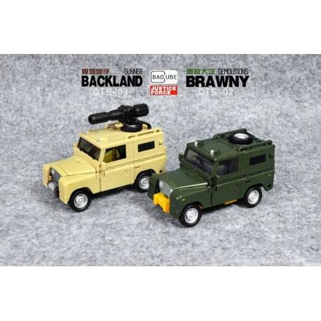Badcube Old Timer Series OTS Brawny & Backland w/ add-on kit
