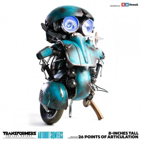 ThreeA Transformers The Last Knight 1/6th Scale Collectible Series Autobot Sqweeks
