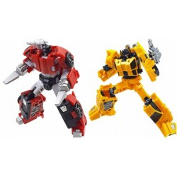 Iron Factory IF-EX26 Racing Bros - Blaze Dash & Bolt Rush