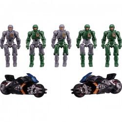 Transformers Diaclone DA-18 Dia-Naughts & Viper Bikes I.M.S Version