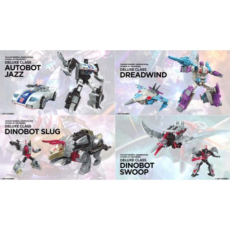 Transformers Power of the Primes Deluxe Set of 4 Wave 1