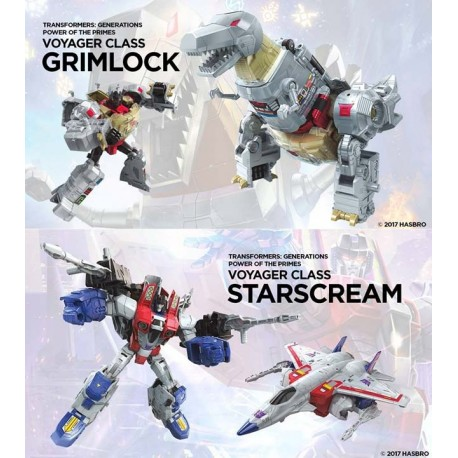 Transformers Power of the Primes Voyager Set of 2 Wave 1