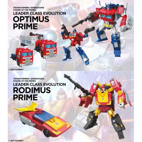 Transformers Power of the Primes Leader Set of 2 Wave 1