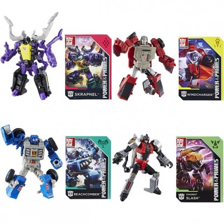 Transformers Power of the Primes Legend Set of 4 Wave 1