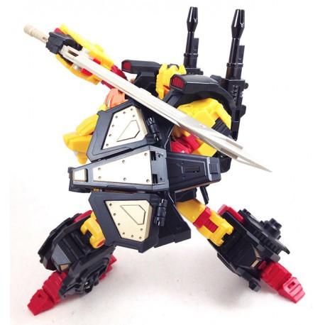 Mastermind Creations Reformatted R-04 Leo Dux