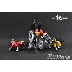 Iron Factory IF-EX03 Sonictech Bassrhino Leotrible - Set of 3